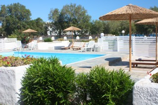 facilities naoussa hotel paros swimming pool