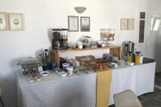 facilities naoussa hotel breakfast buffet