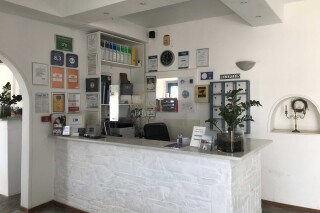 facilities naoussa hotel reception