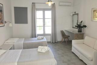 naoussa hotel apartment for four interior
