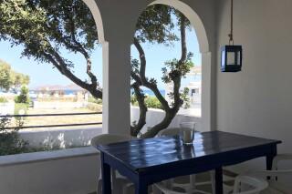 naoussa hotel apartment for four veranda