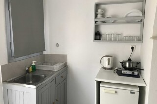 naoussa hotel double studio kitchenette